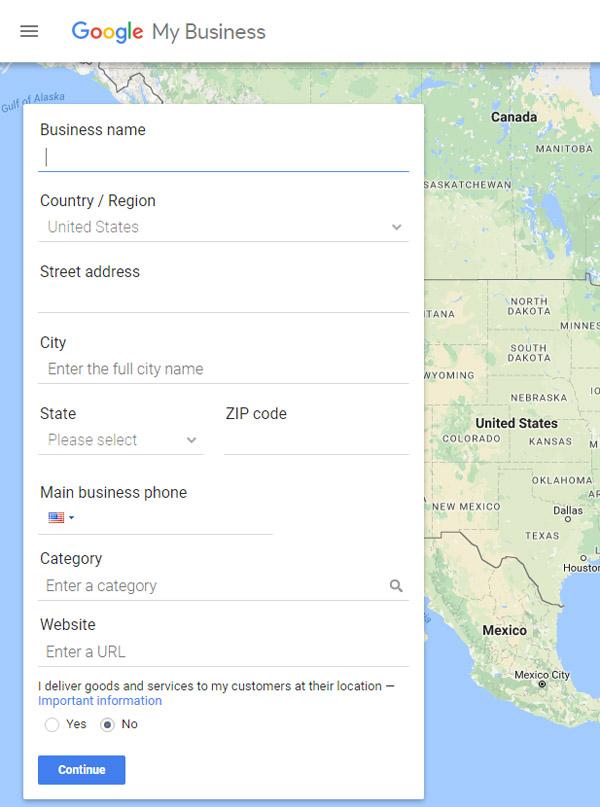 add pilates studio to google maps