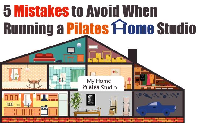 pilates home studio mistakes to avoid