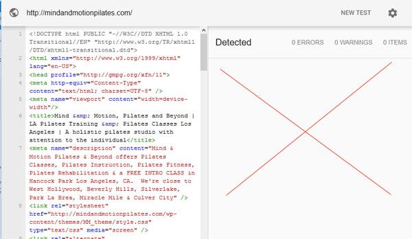 website without schema markup