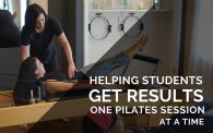 personalized pilates session