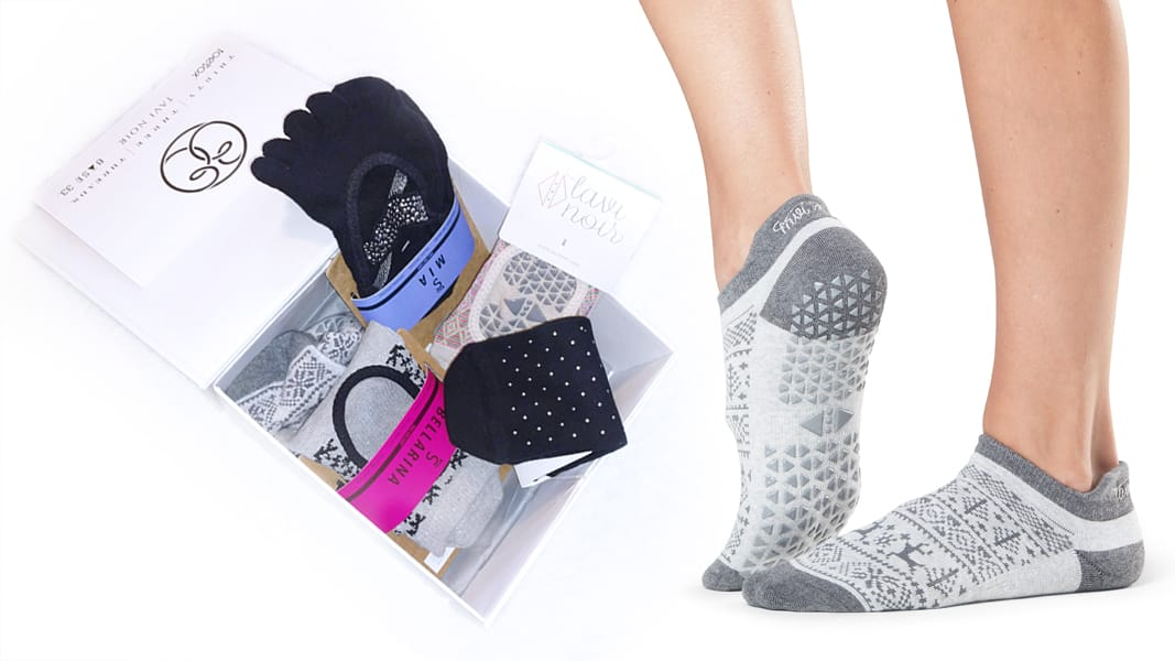 pilates grip socks gift idea