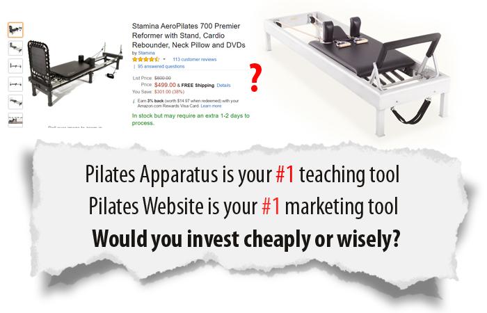 pilates-website-designer