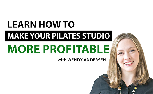Learn how to make your Pilates studio profitable - interview with Wendy Andersen