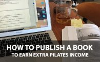 How to Write and Publish a Pilates Book on Amazon