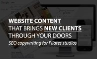 SEO copywriting for Pilates studio websites
