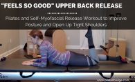 upper back release to improve posture