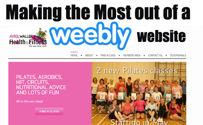 weebly website optimization